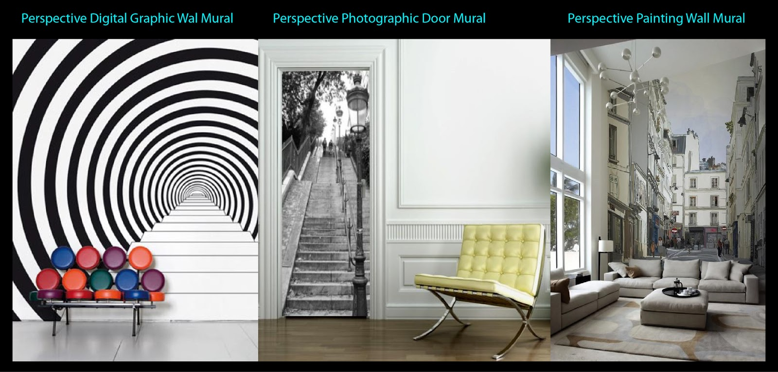 Walldesign by sunderella give a new dimension to your for 3d wall mural pictures