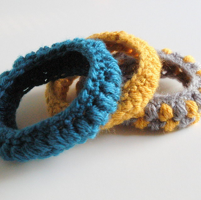 Crocheting Bracelets : You can easily guess why this crochet bracelet tutorial by Crocheterie ...