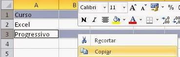 Copiando linhas de uma planilha do Excel