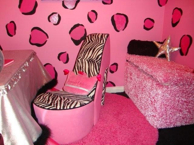 pink zebra room decorating ideas