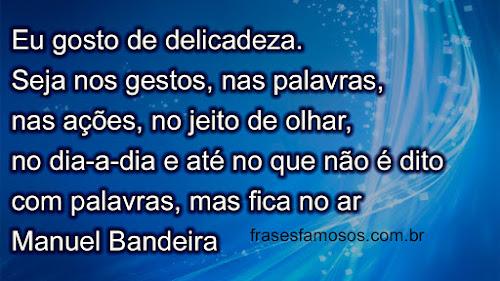 Frases Manuel Bandeira