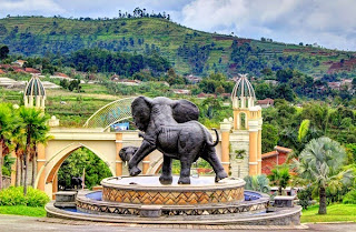Tiket Masuk dan Permainan Kampung Gajah Wonderland Bandung
