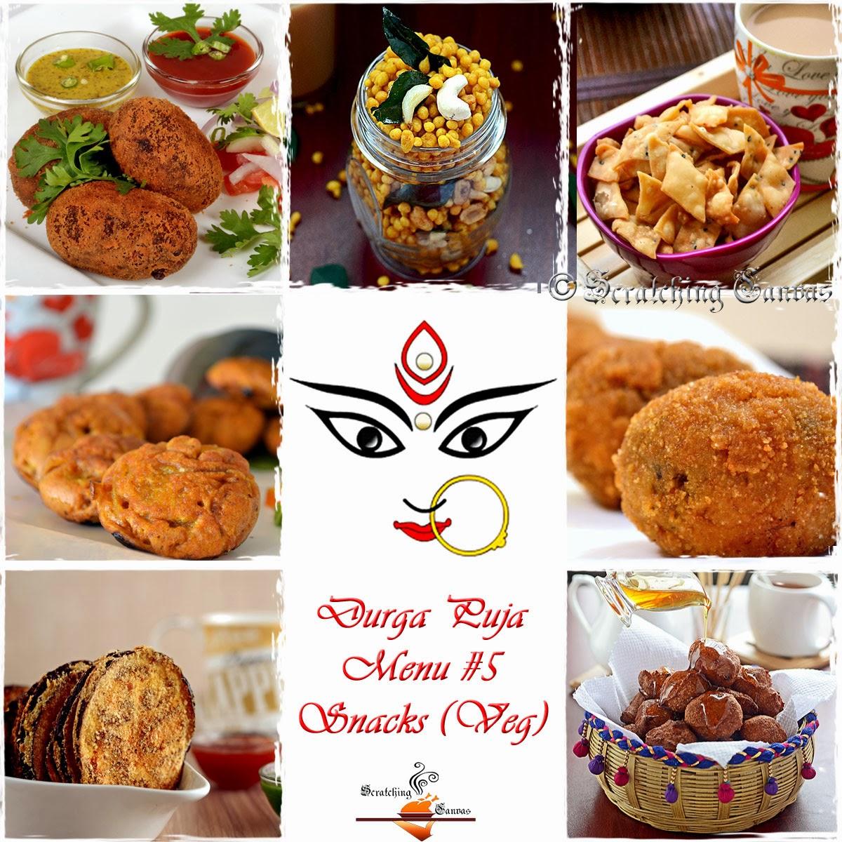 Behance durga puja snacks veg forumfinder Image collections
