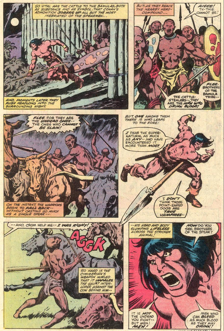 Conan the Barbarian (1970) Issue #102 #114 - English 8