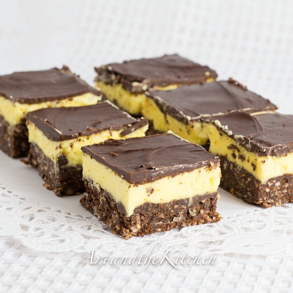 Nanaimo Bars | Art and the Kitchen