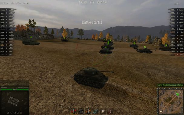 game PC World of Tanks