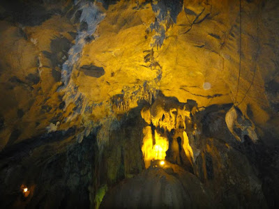 Guangyan Cave in Guilin China