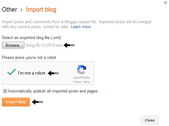 import blog