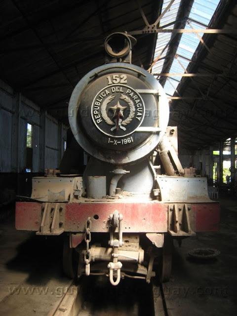 foto: Tren del Lago paraguay ferrocarril antiguo