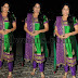 Ramesh Babu wife Green Churidar