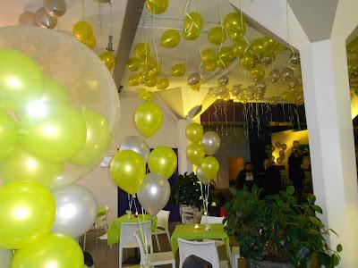 Ballonnen decoratie voor prenatal moeder en kind b.v.