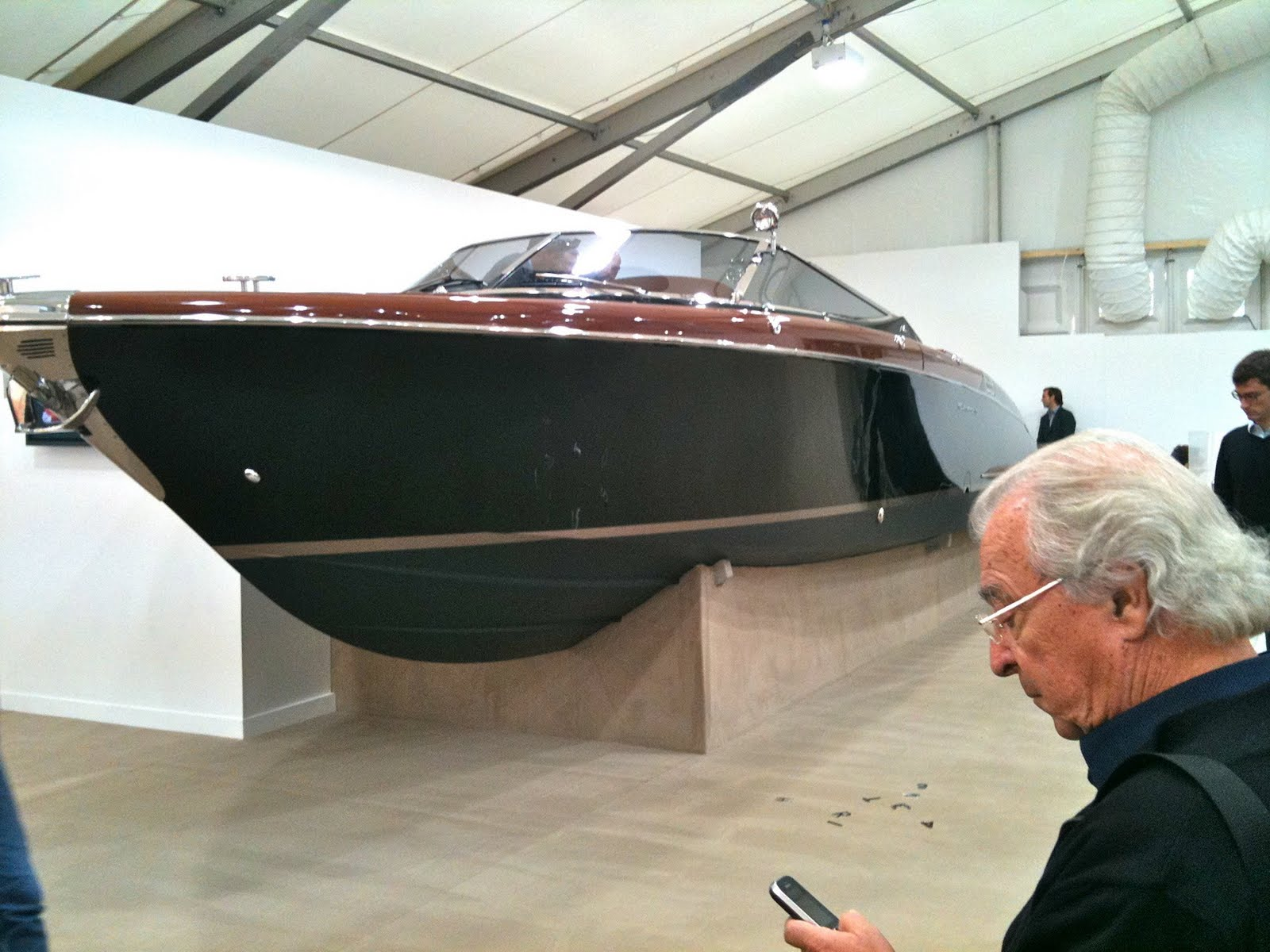 The big media draw at this year's Frieze fair was a super yacht and matching ...