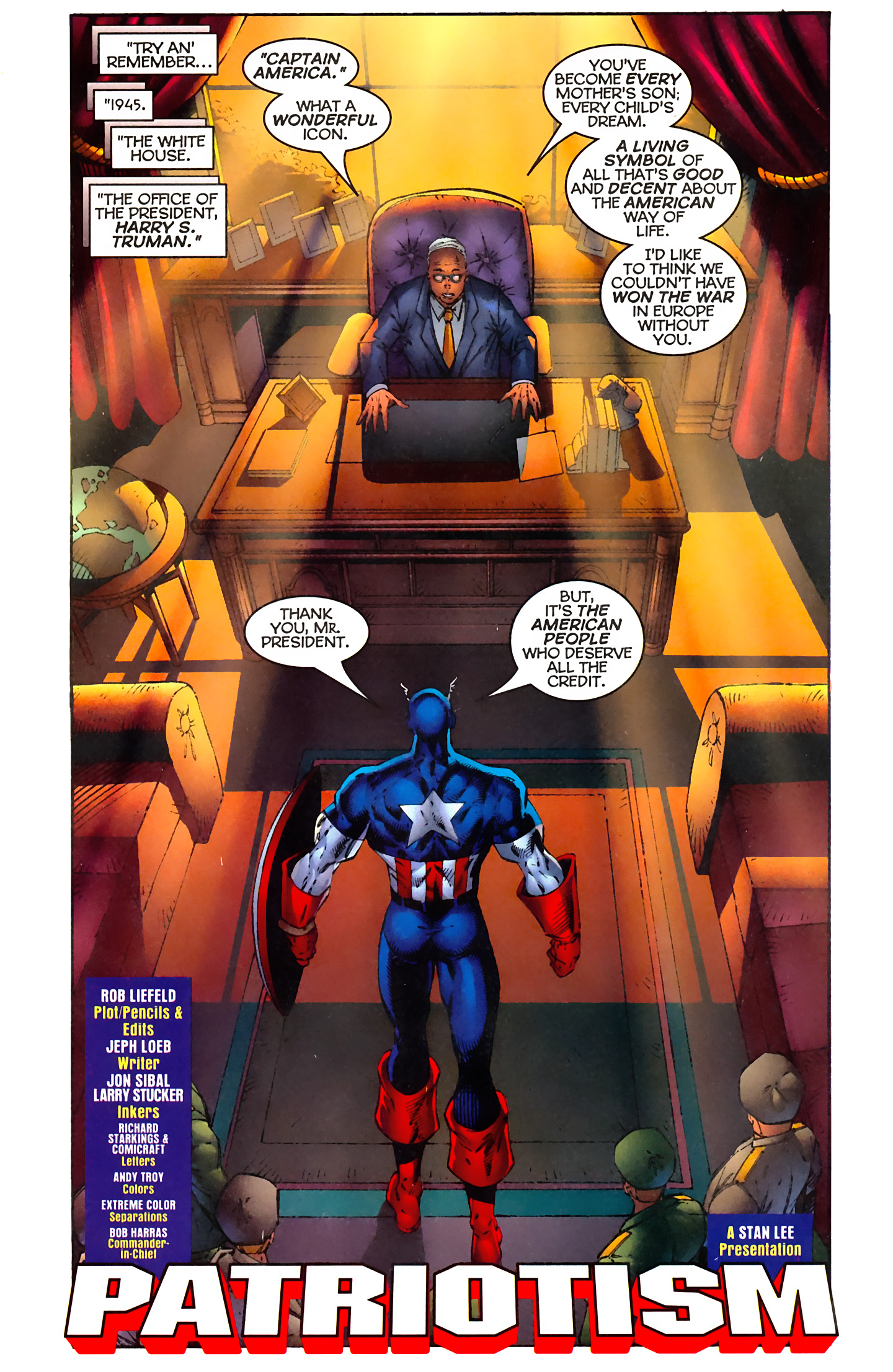 Captain America (1996) Issue #3 #3 - English 3