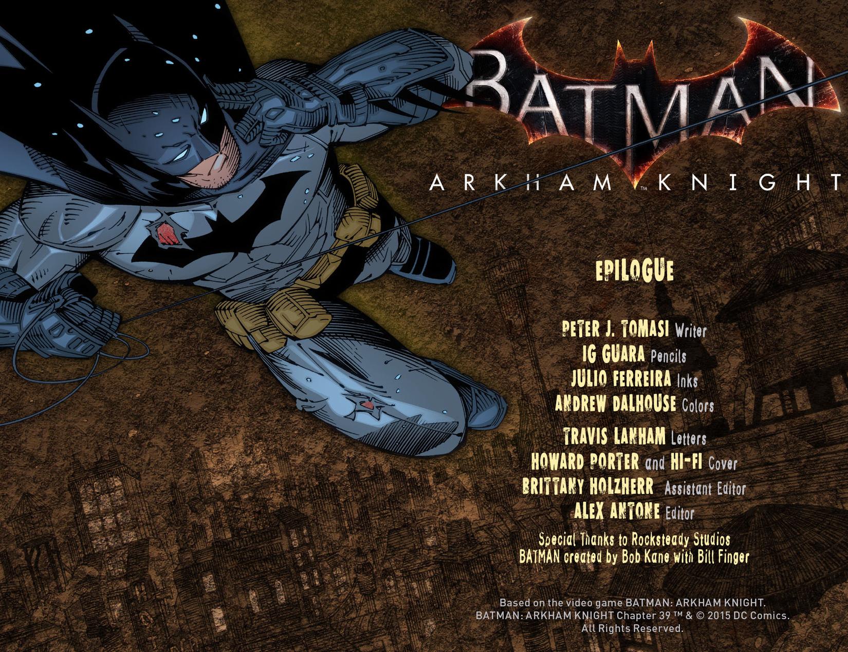 Batman: Arkham Knight [I] chap 39 pic 2