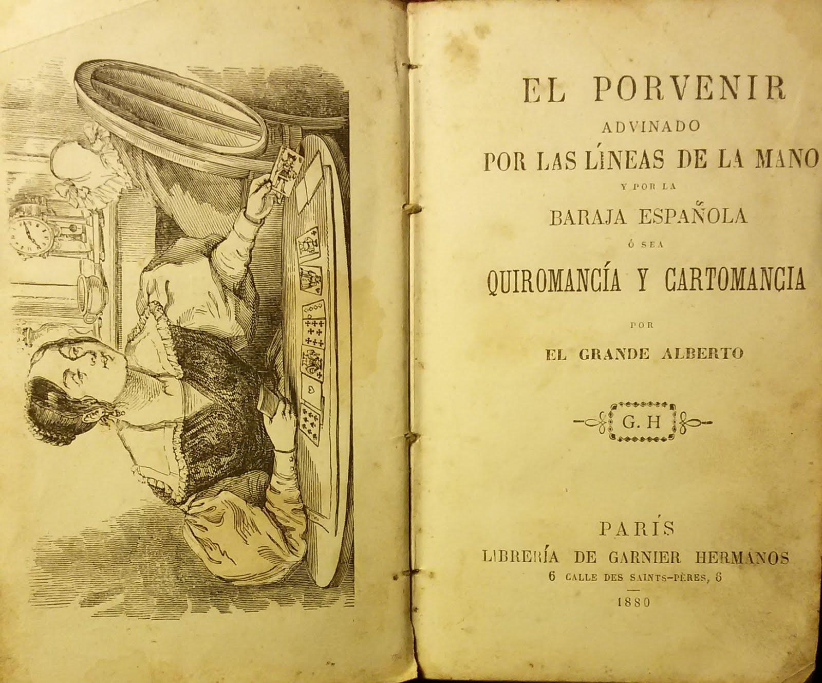 188O CARTOMANCIA Y QUIROMANCIA