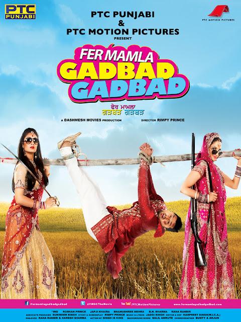 Fer Mamla Gadbad Gadbad 2013 DVDRip 700mb Download