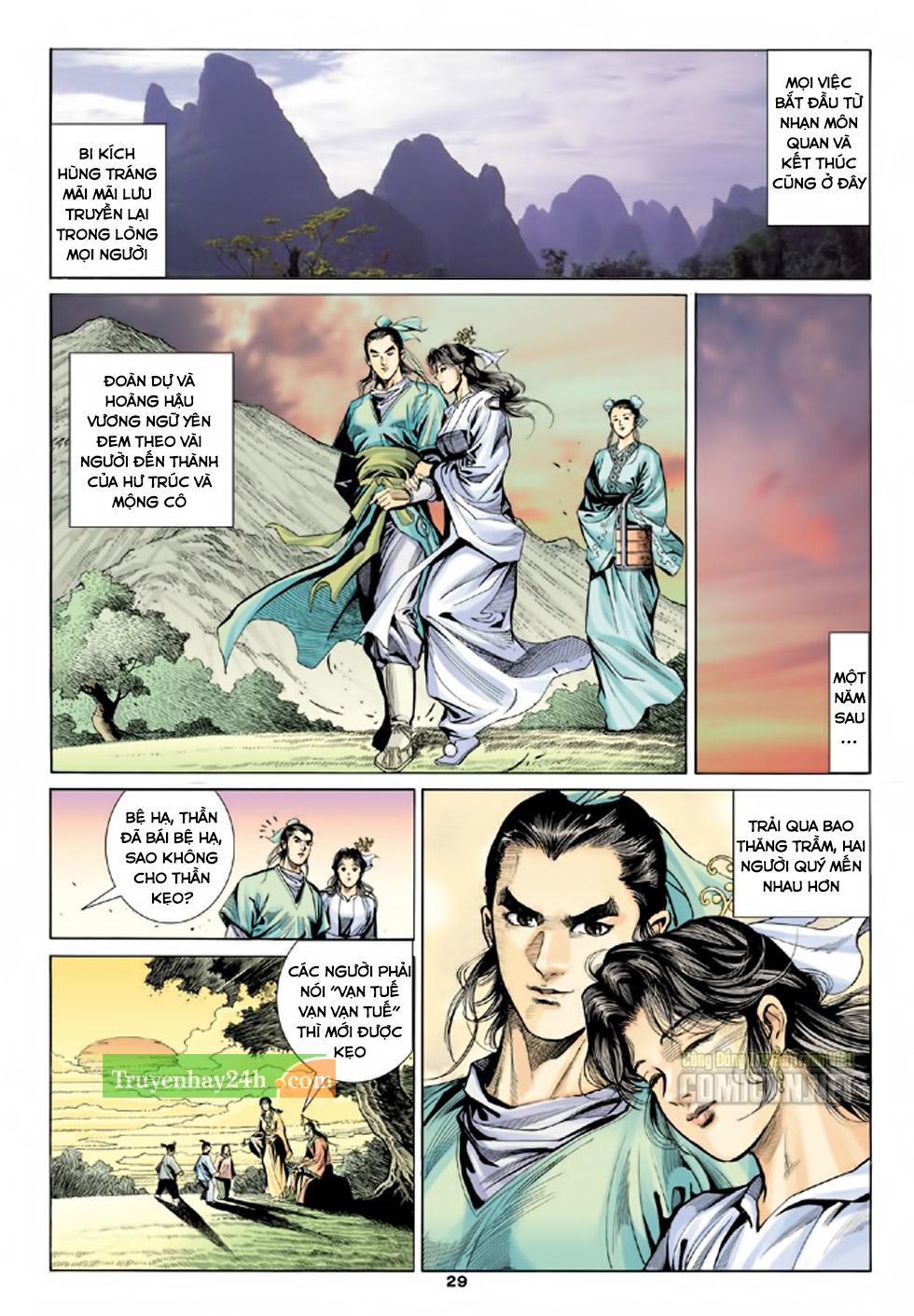 Thiên Long Bát Bộ chap 100 – End Trang 30 - Mangak.info