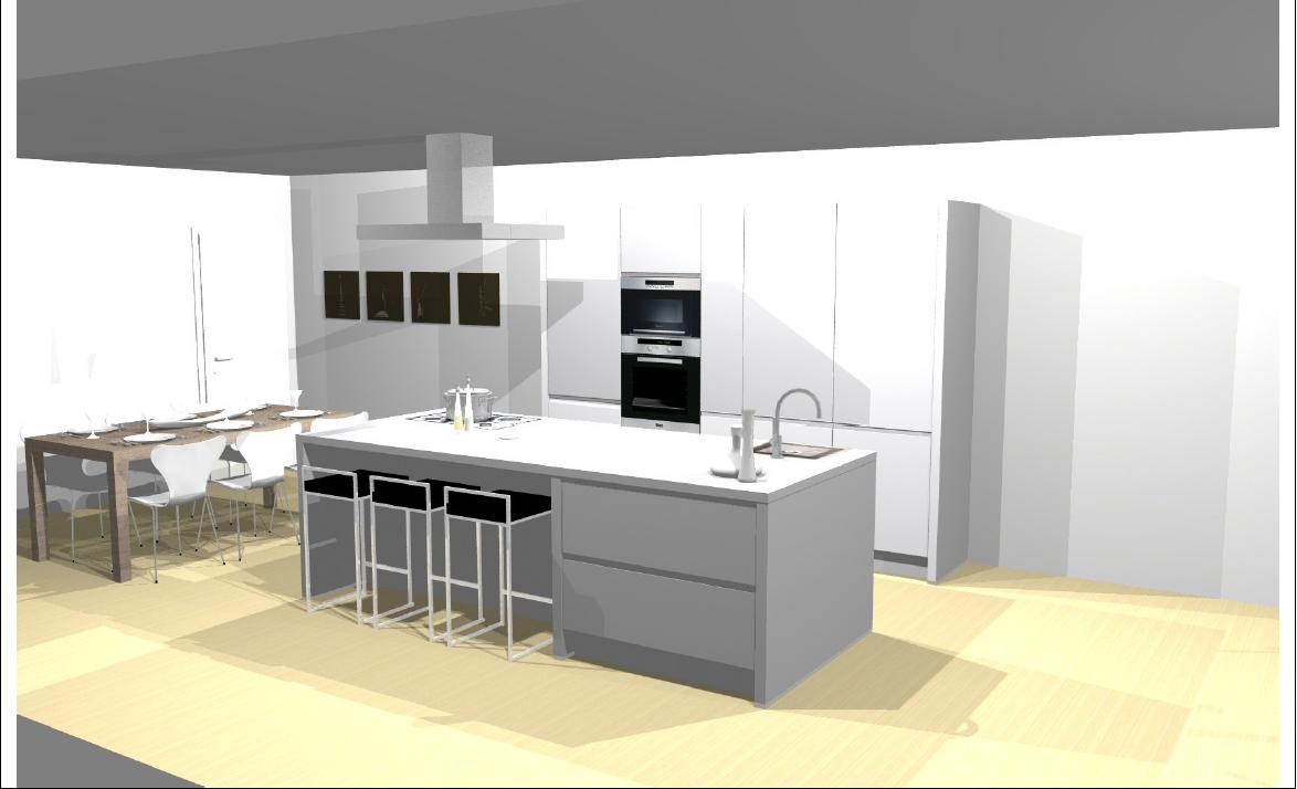 Keukens Ixina Lochristi : Hugo Verrieststraat mei 2011