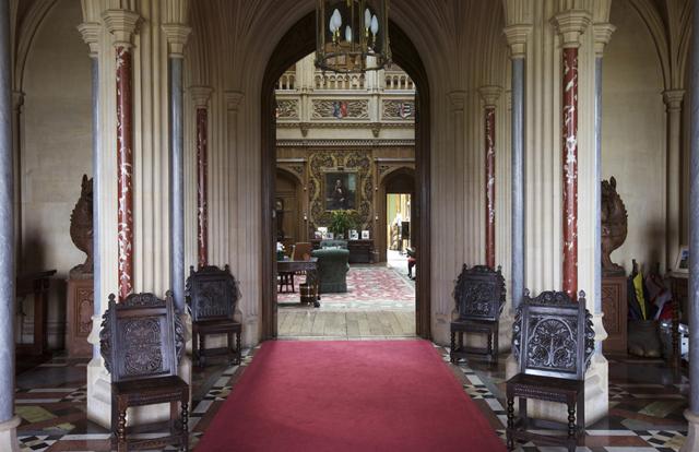 Mansion Foyer Uk : Sense and simplicity downton abbey house tour