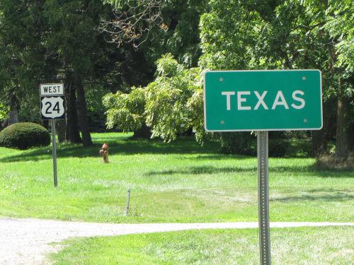 Texas, Ohio