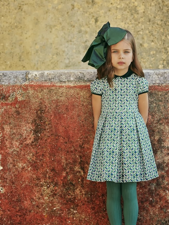 Estrella fashion report oscar de la renta children 39 s for Oscar de la renta childhood