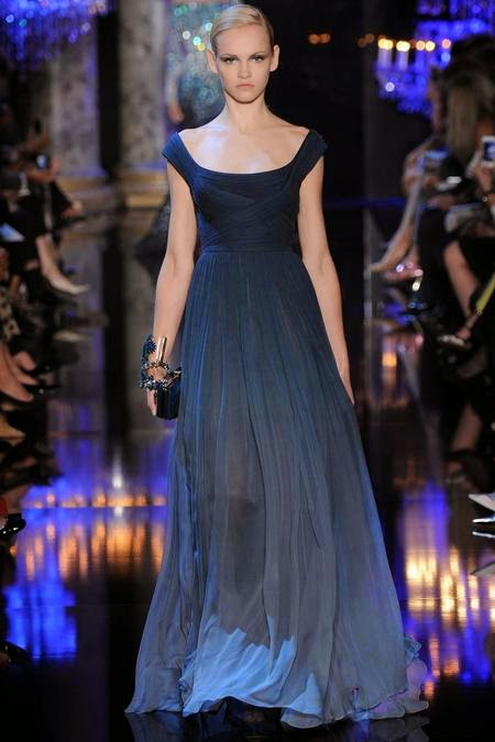elie saab evening dress collection fall 2014