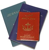 brunei passport