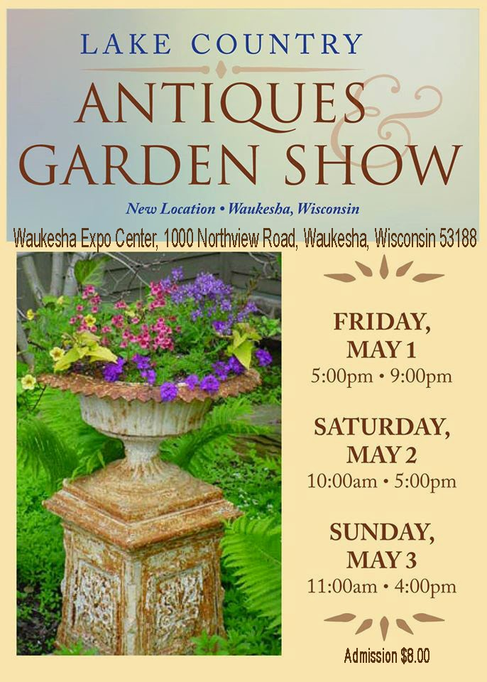 MAY 1-2-3 Antique GARDEN SHOW