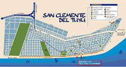 Plano de San Clemente del Tuyu