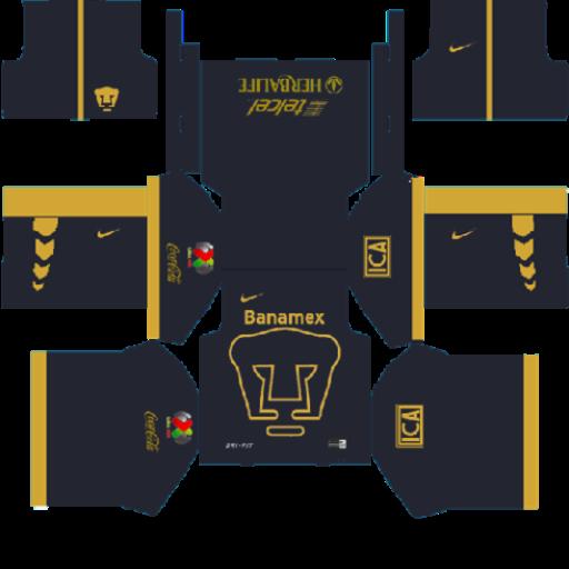 Dream league soccer kits pumas dls