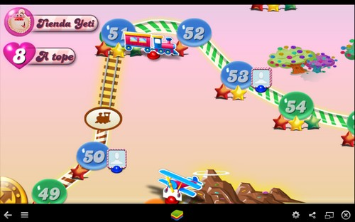 Multiplicar vidas en Candy Crush Saga