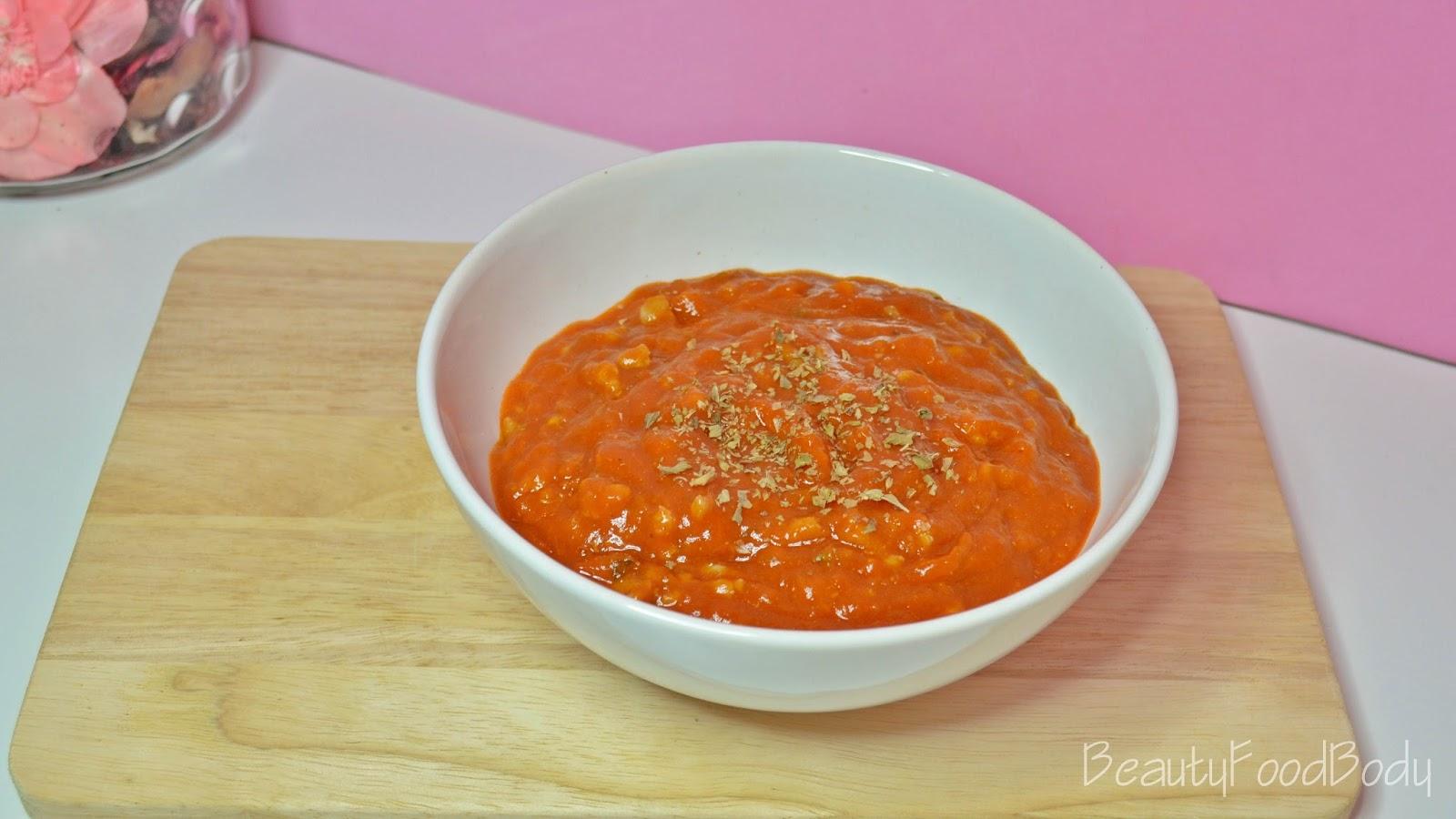 beautyfoodbody receta salsa boloñesa bolognesa rapida facil sencilla