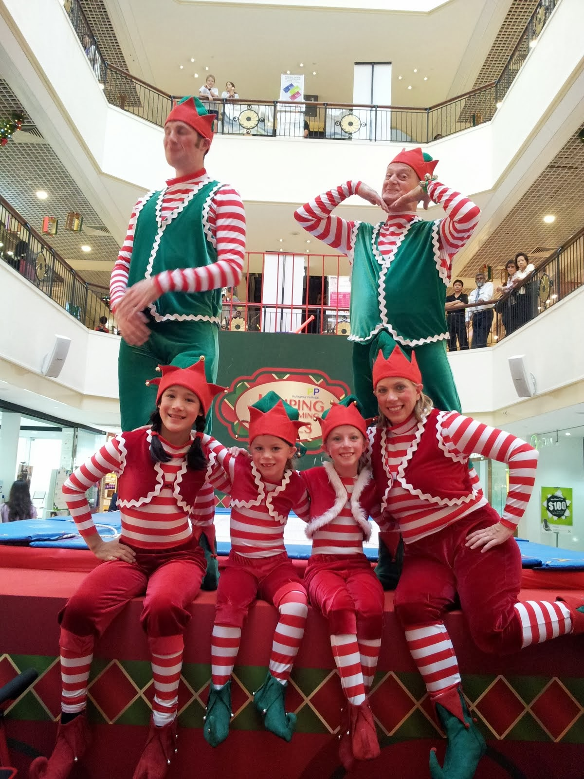 Jumpin' Jammin' Elves