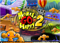 Games Monkey Go Happy 2 Walkthrough