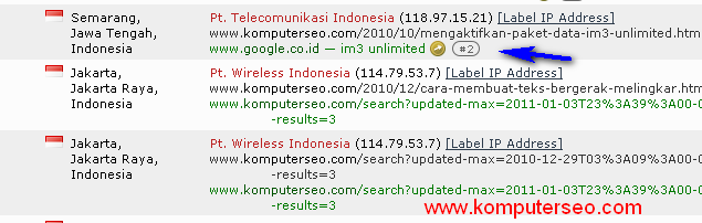 web tracker
