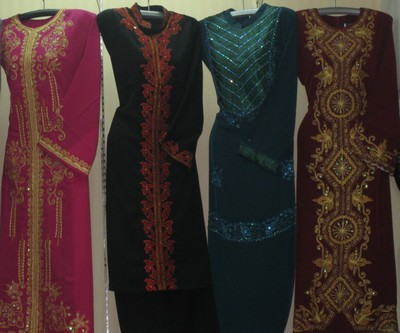 Fesyen 2012 Model Terbaru Baju Gamis