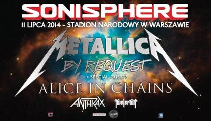 Sonisphere Festival 2014