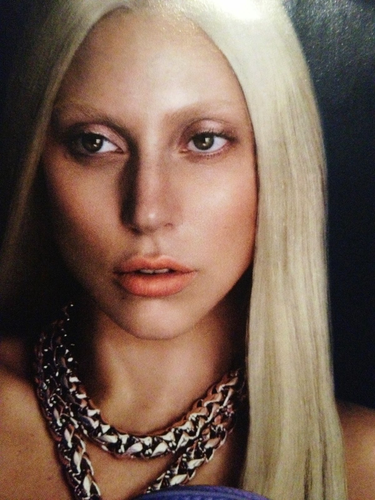 Lady Gaga For Versace Spring Summer 2014