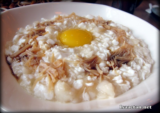 Scrambled Egg White with Fish and Dried Scallop - RM20