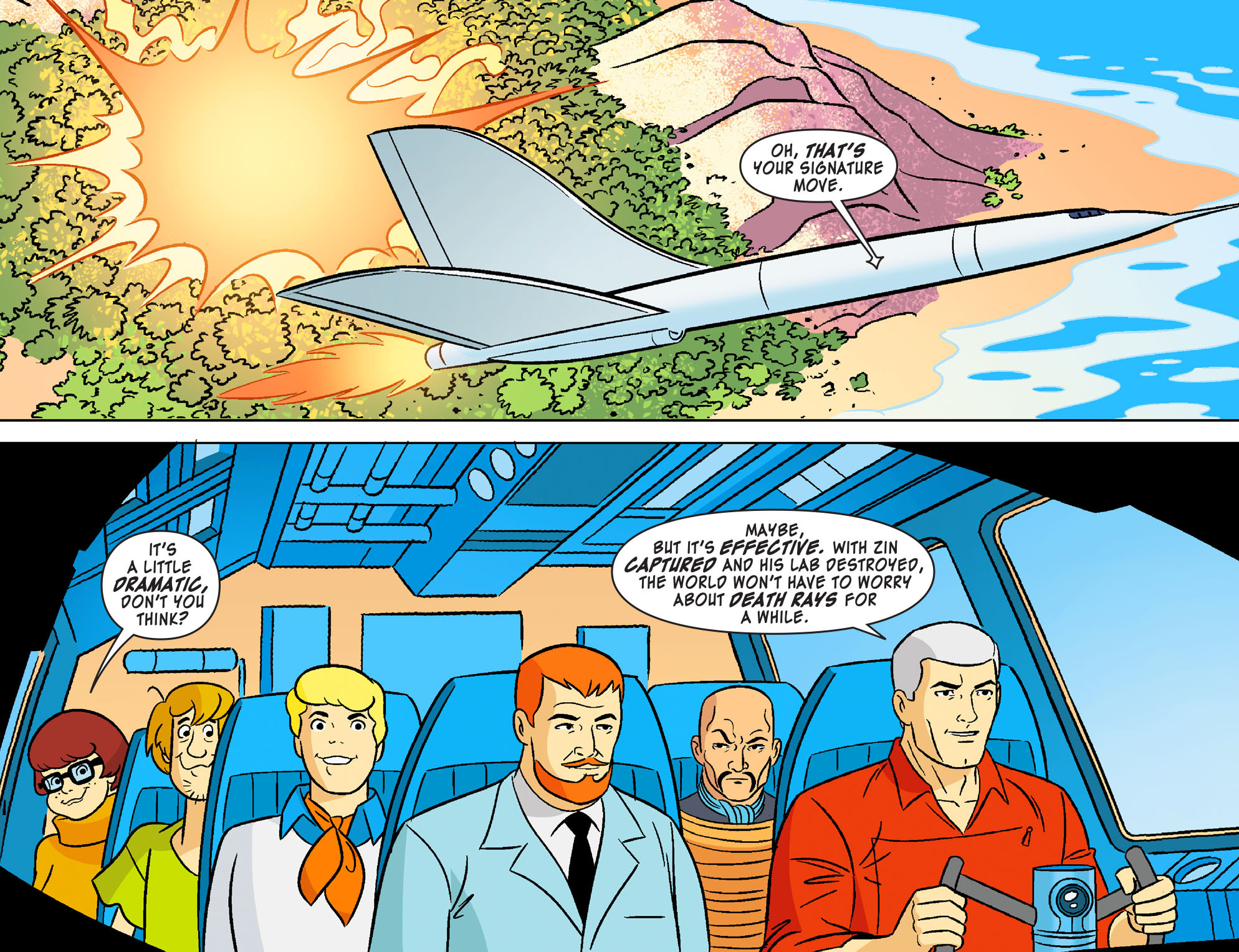 Read online Scooby-Doo! Team-Up comic -  Issue #20 - 22
