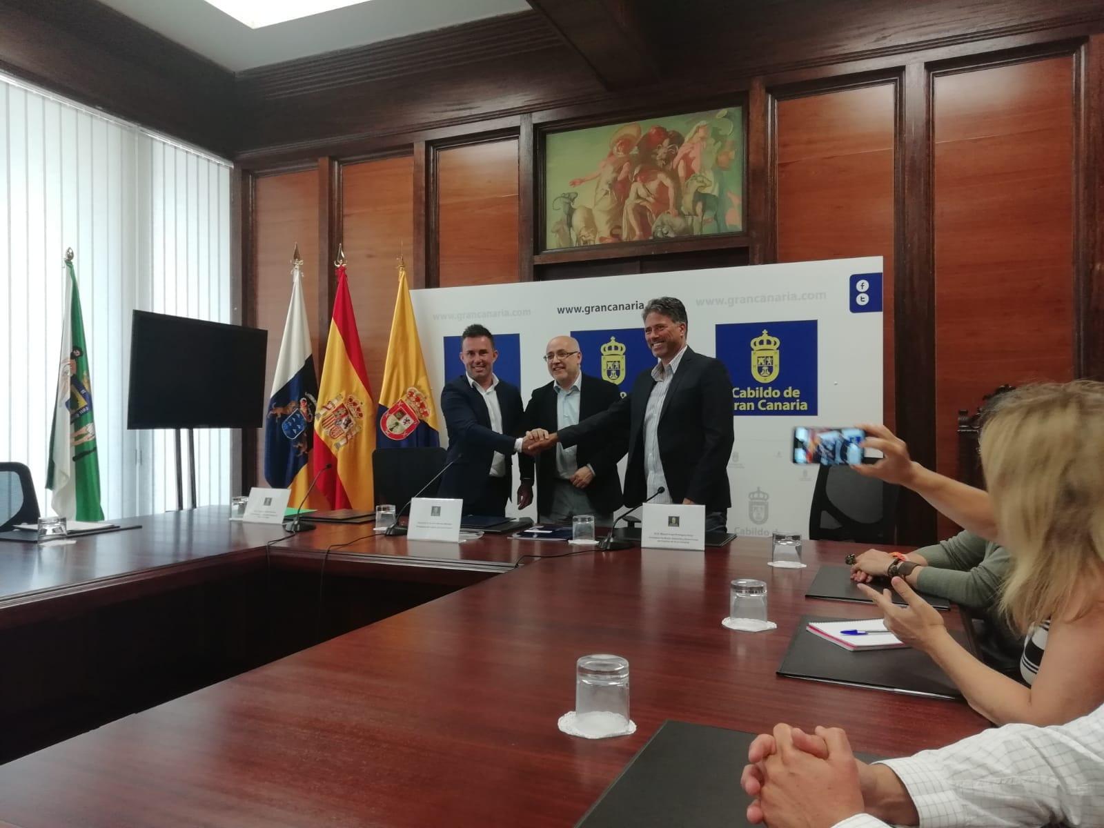 Convenio con el Cabildo de Gran Canaria