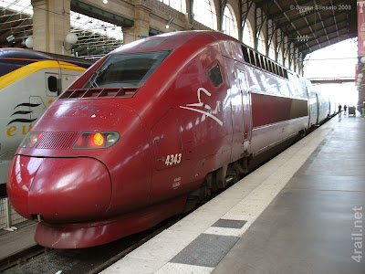 TGV+Reseau 10 Daftar Kereta Api Tercepat Di Dunia