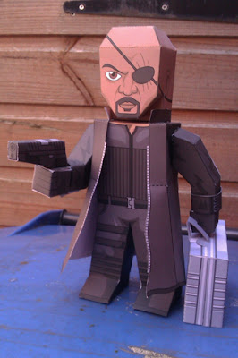 The Avengers, Nick Fury Papercraft