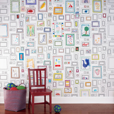 Dekoratif+%252C+renkli+duvar+kagidi Yeni Sezon Dekoratif Duvar Kağıtları