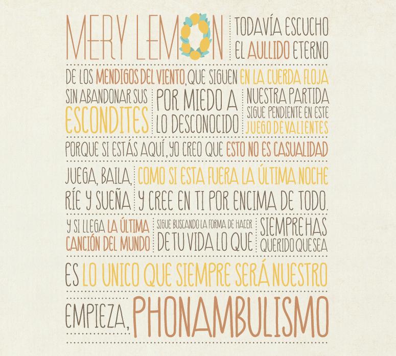 Mery Lemon Phonambulismo
