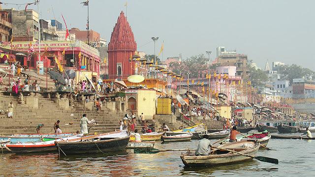 Le Gange et ses ghâts