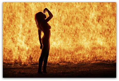 Игры с огнем: я остановлю огонь силой своей мысли