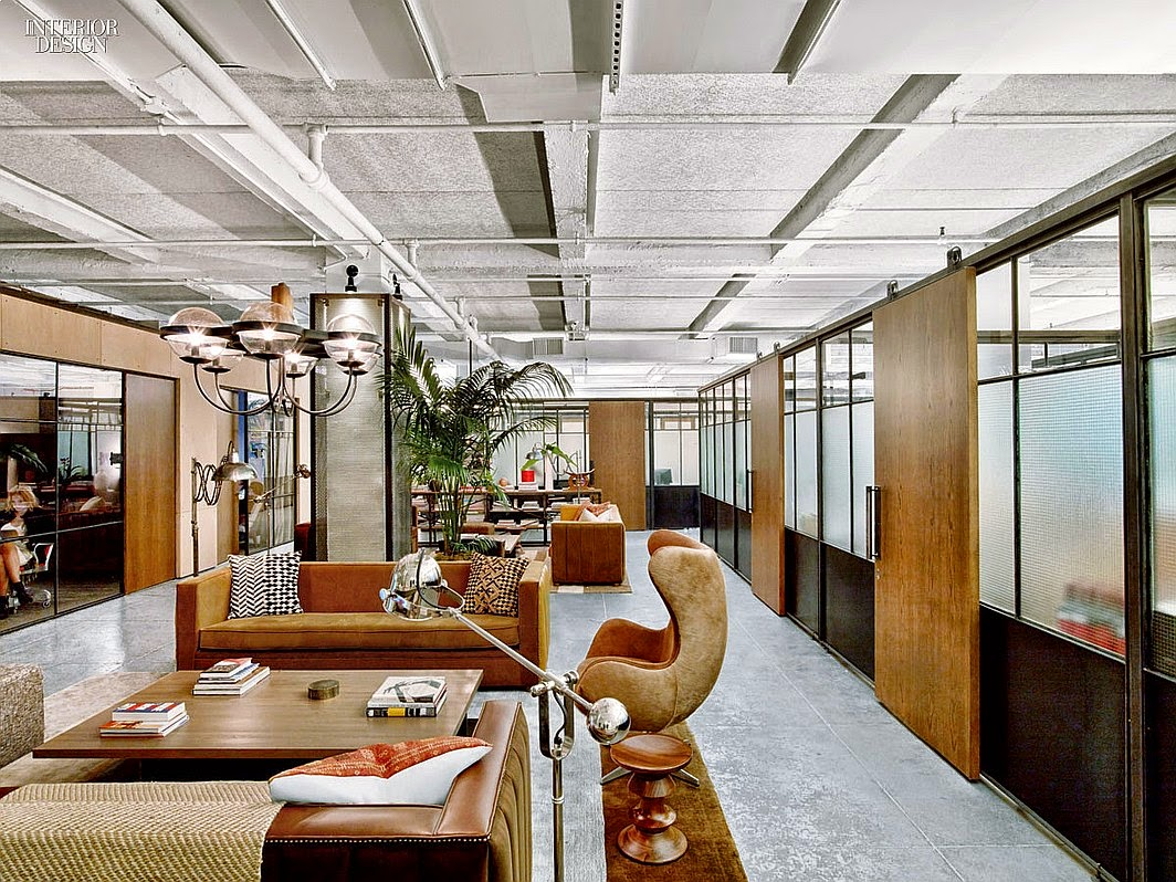 Rockwell\'s NeueHouse is More Club Than Office