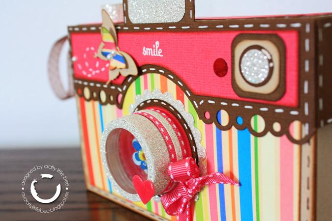 Mi premio crafty little bee for Regalo camera