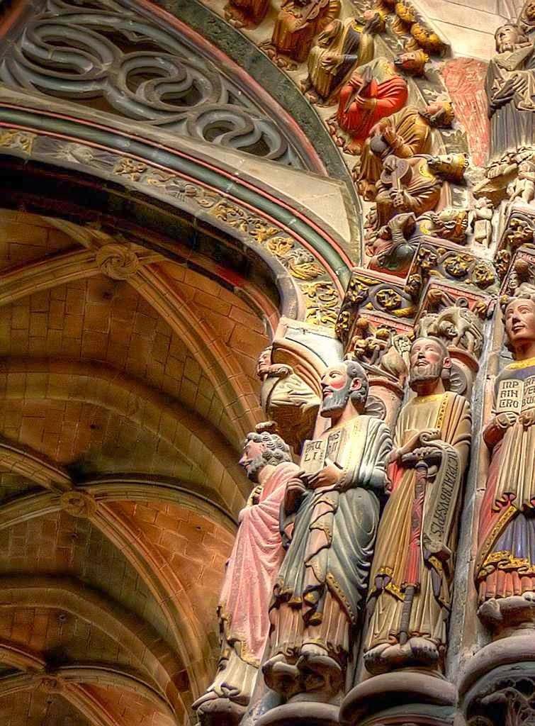 Pórtico del Paraiso da catedral de Ourense
